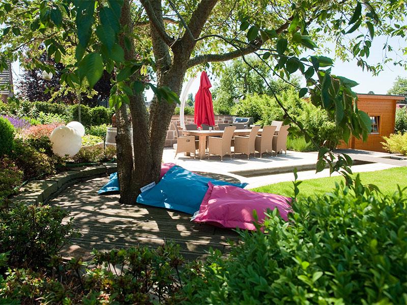 sauna im garten beratung und gestaltung von saunag rten. Black Bedroom Furniture Sets. Home Design Ideas